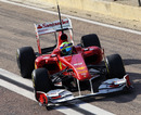 Felipe Massa gets back on track after his morning fire