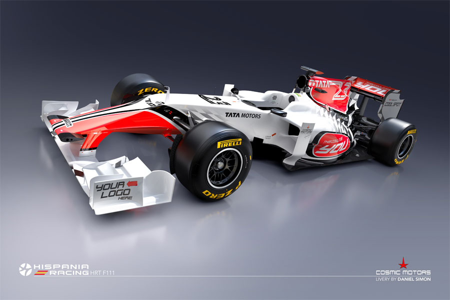 8660 - HRT releases first images of new car
