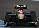 Jarno Trulli kicks off Lotus' second test of 2011