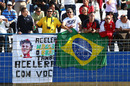 Felipe Massa fans in the grandstands
