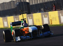 Paul di Resta on track early on Saturday morning