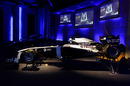 The new Williams livery on display at its launch