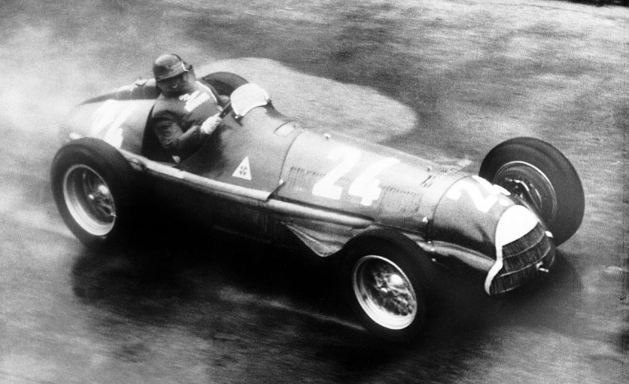 Juan Manuel Fangio at the Swiss Grand Prix