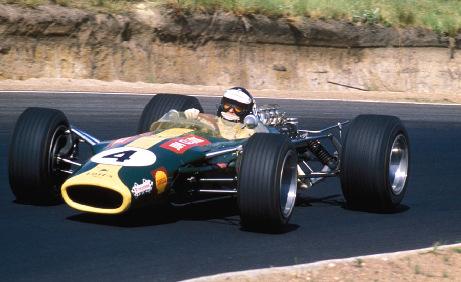 Jim Clark drove for Lotus until he died in 1968