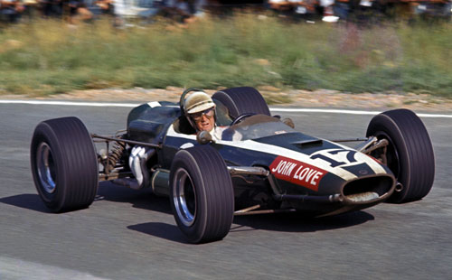 John Love came second in South Africa in 1967