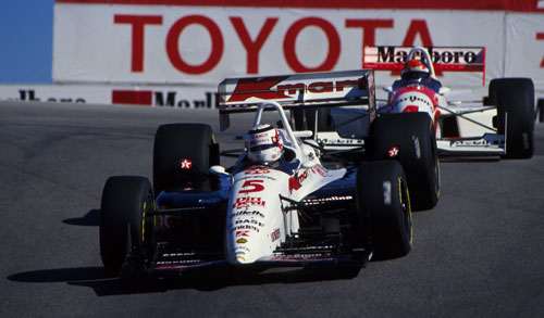 Nigel Mansell won the IndyCar championship in 1993
