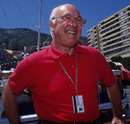 F1 commentator Murray Walker at the Monaco Grand Prix