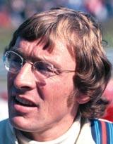 Australian driver Larry Perkins