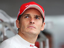 Giancarlo Fisichella replaced Luca Badoer at Ferrari
