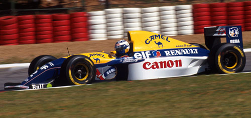 Alain Prost won the opening round in 1993