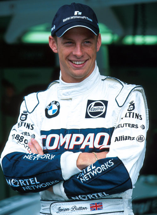 Jenson Button made his debut with Williams