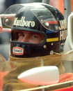 James Hunt at the British Grand Prix