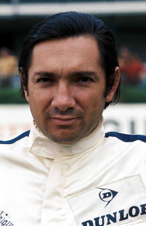 Mexican driver Pedro Rodriguez