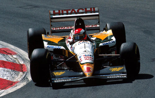 Johnny Herbert raced for Lotus in its final year