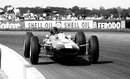 Jim Clark drove his Lotus to victory at Silverstone