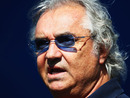 Flavio Briatore in the Melbourne paddock