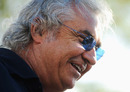 Flavio Briatore before the start of the 2009 season