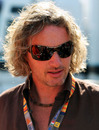 Eddie Irvine at the Italian Grand Prix