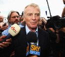 Max Mosley got mobbed by the media