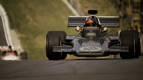 Emerson Fittipaldi and Lotus beat the competition in 1972