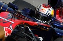 Jaime Alguersuari at the wheel of the Toro Rosso
