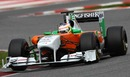 Paul Di Resta got time in the Force India in the afternoon