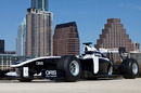 A Williams Formula One car in Austin for the launch of <I>Senna</I>