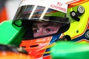Paul di Resta prepares to go out in the Force India