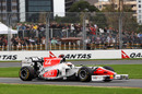 Narain Karthikeyan gets some track time in the F111
