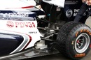 The impressive rear end of the Williams FW33