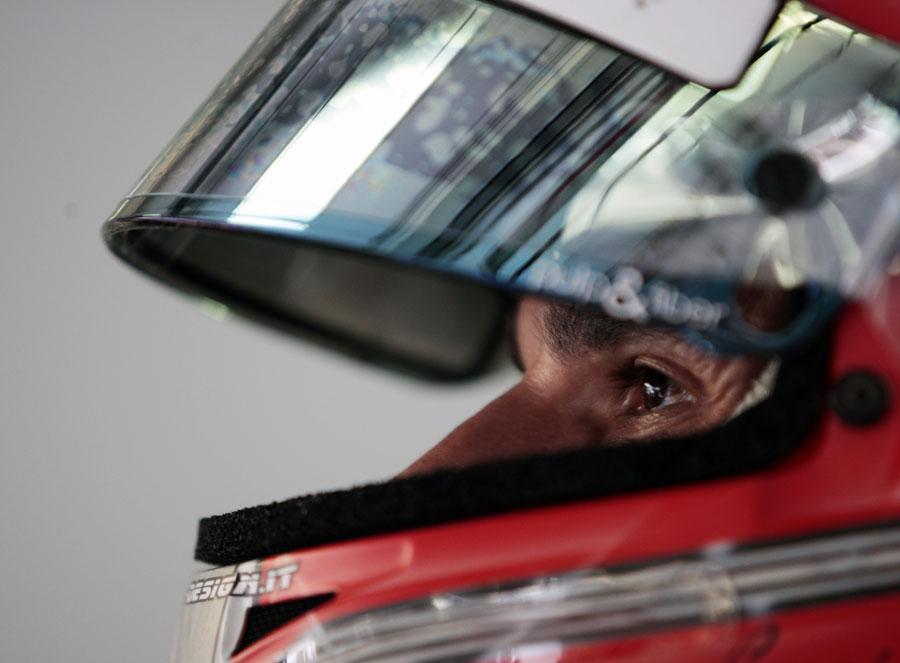Tonio Liuzzi ahead of Sunday's race