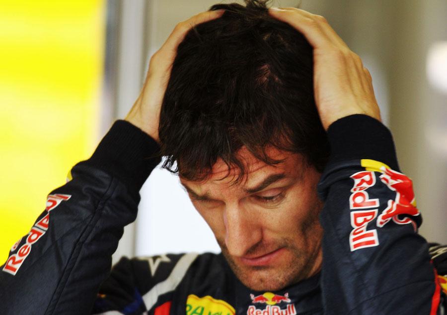 9598 - 'We just weren't quick enough' - Webber