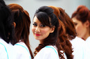 Grid girls, Malaysian Grand Prix, Sepang, April 10, 2011