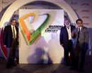 Organisers of the Indian Grand Prix pose for a photo at the unveiling of the logo for the Buddh International Circuit