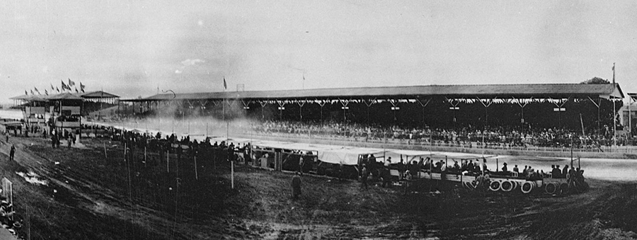 A general view of the first Indianapolis 500