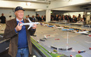 Niki Lauda at the offical launch the new miniature model Knuffingen Aiport