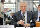 Former FIA president Max Mosley at the European Court of Human Rights arguing for stricter privacy laws