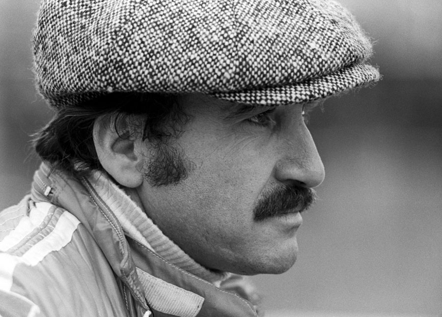 Clay Regazzoni in the paddock