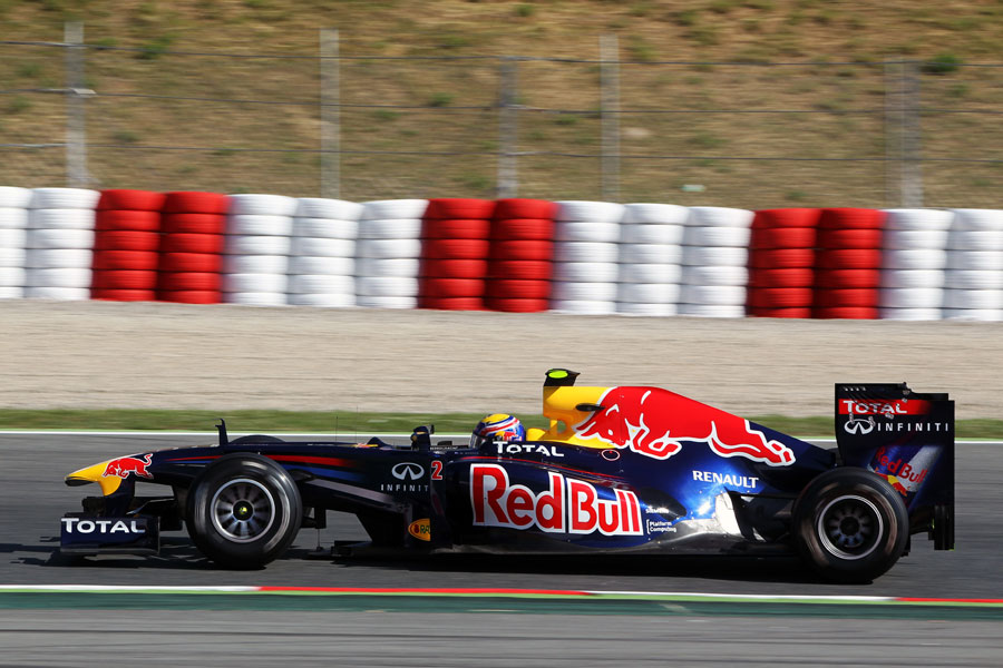 9971 - Webber sets early pace at Barcelona