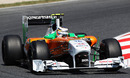 Nico Hulkenberg gets some track time in the Force India